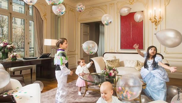Family Time with Disney at The Peninsula Paris