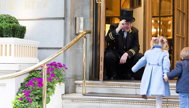 Families at The Ritz - Family Package- The Ritz London