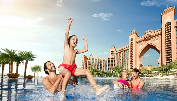 Dubai Family Vacation at Atlantis The Palm Dubai