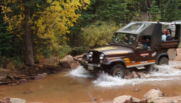 Colorado Springs Family Vacation at The Broadmoor, Jeep