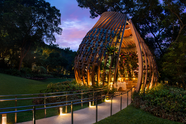 The Orchid Restaurant -©Shangri-La Hotel, Singapore
