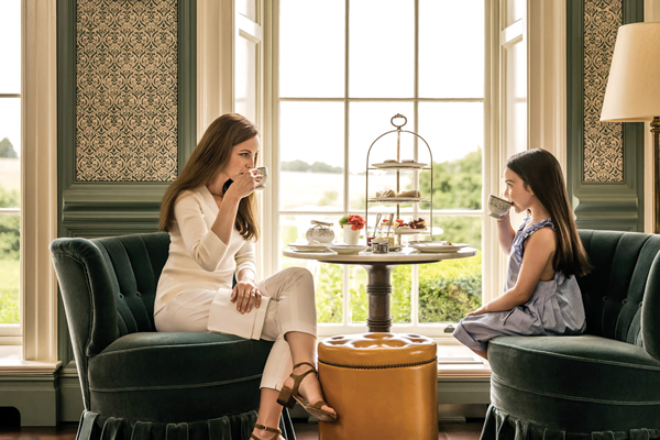 Mum & Daughter Afternoon Tea -©Four Seasons Hotel Hampshire