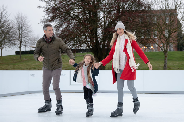 Ice Skating Family Time -©Four Seasons Hotel Hampshire