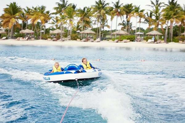 Family Experience at Jumby Bay Island Resort, Antigua