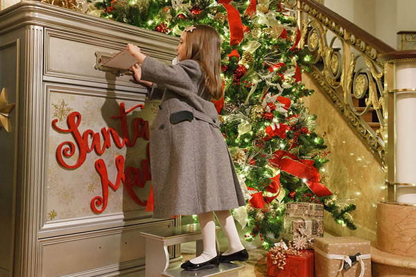 Letters to Santa at Lotte New York Palace