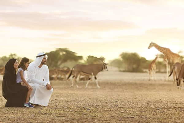 Wildlife Drive -©Desert Islands Resort & Spa by Anantara, Sir Bani Yas Island