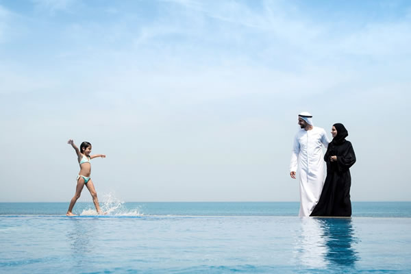 Main Pool -©Desert Islands Resort & Spa by Anantara, Sir Bani Yas Island