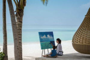 Kids' Painting - ©Anantara Kihavah Maldives Villas