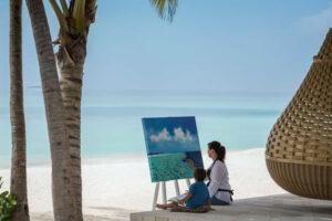 Kids' Painting - ©Anantara Kihavah Maldives Villas