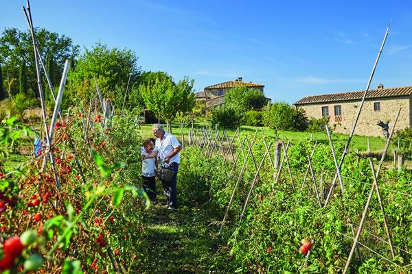 Garden - ©Belmond Castello di Casole, Tuscany
