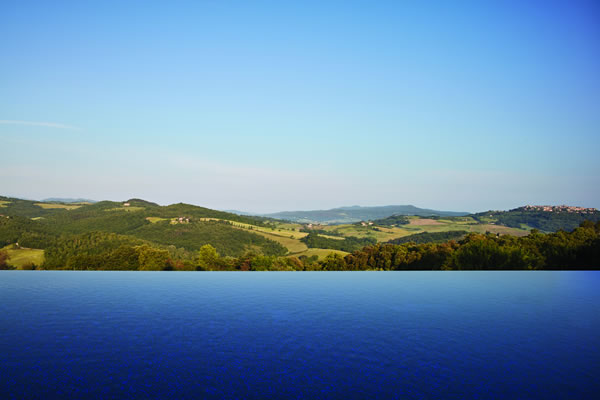 View from the Pool - ©Belmond Castello di Casole, Tuscany
