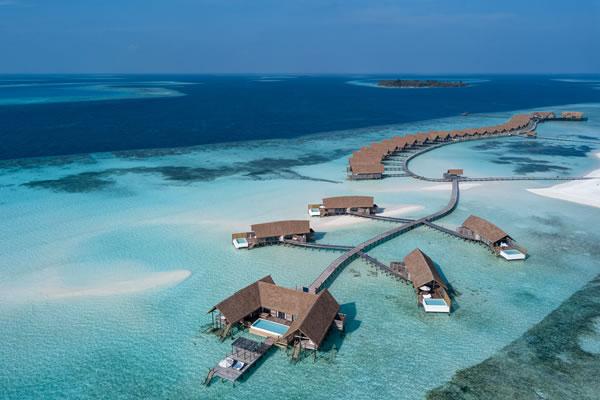 Water Villas - ©COMO Cocoa Island, Maldives