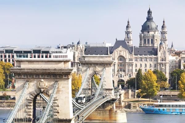 Aerial View - ©Paul Thuysbaert - Four Seasons Hotel Gresham Palace Budapest