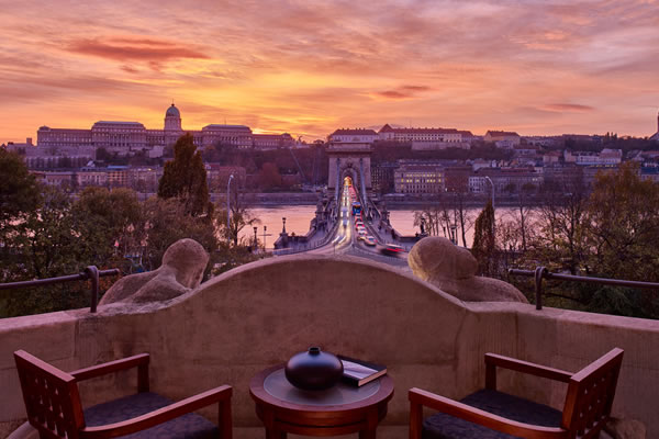 View from Royal Suite - ©Four Seasons Hotel Gresham Palace Budapest