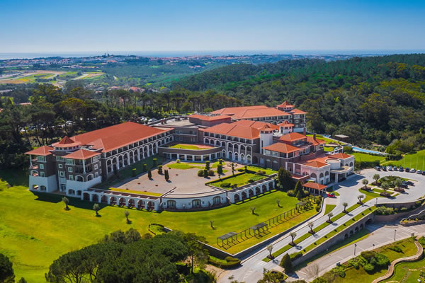 Aerial of the Resort - ©Penha Longa, A Ritz-Carlton® Hotel, Sintra, Portugal