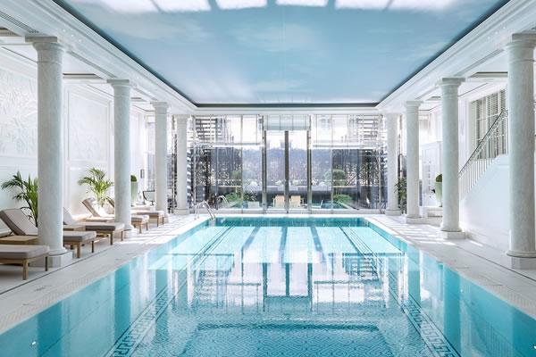 Indoor Swimming Pool - ©Roberta Valerio, Shangri-La Hotel, Paris