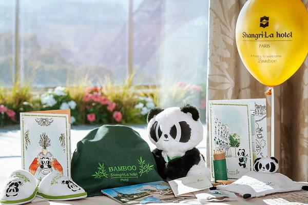 Bamboo Kids Activity Kit - ©Shangri-La Hotel, Paris