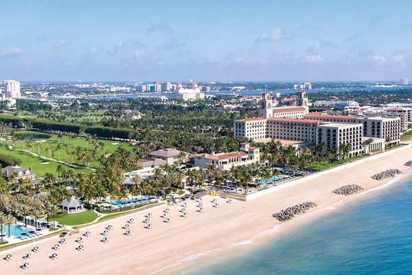 Aerial - ©The Breakers, Palm Beach