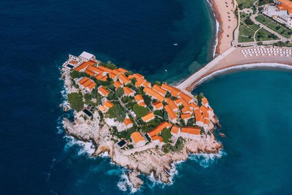 Sveti Stefan Island ©Aman Sveti Stefan, Montenegro