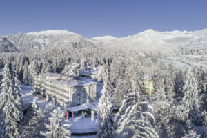 Aerial - ©Waldhaus Flims Wellness Resort