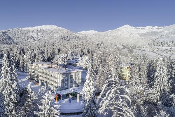 An Alpine Family Getaway at Waldhaus Flims Wellness Resort