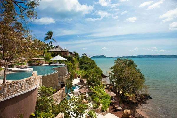 Horizon Pool and Outdoor Relaxation Deck -©The Westin Siray Bay Resort & Spa, Phuket