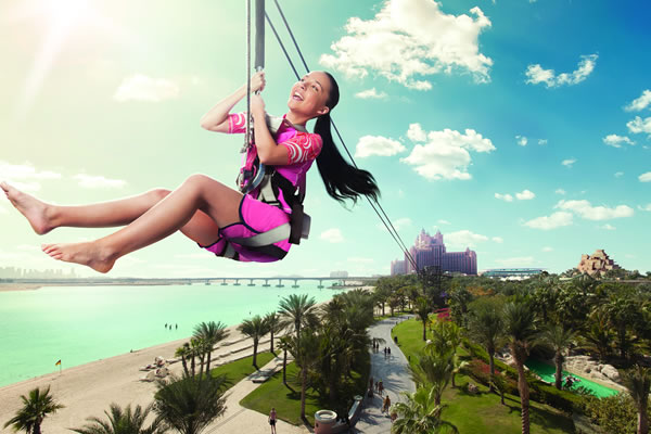Atlantean Zipline - ©Atlantis The Palm Dubai