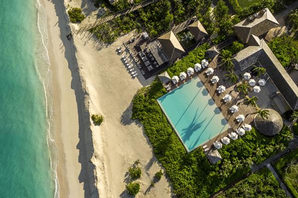 Beach Club and Lotus - ©COMO Parrot Cay, Turks and Caicos Islands