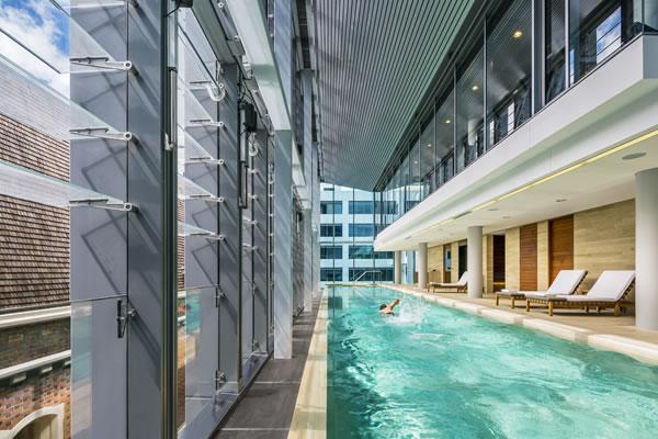 Pool -©COMO The Treasury, Perth
