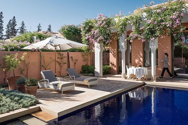 Deluxe Villa with Private Pool - ©The Oberoi, Marrakech