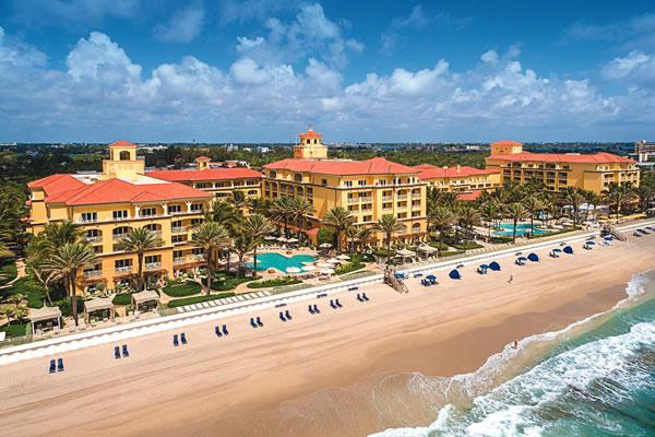 Aerial -©Eau Palm Beach Resort & Spa