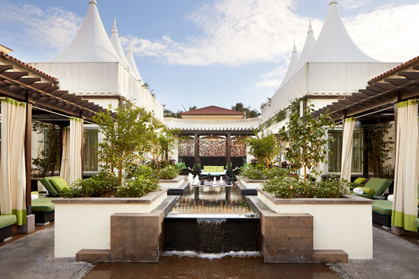 Spa Garden -©Eau Palm Beach Resort & Spa