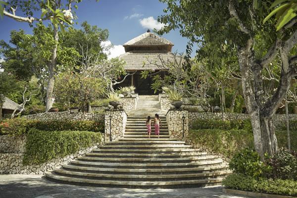 Steps to the Lobby - ©Christian Horan / Four Seasons Resort Bali at Jimbaran Bay