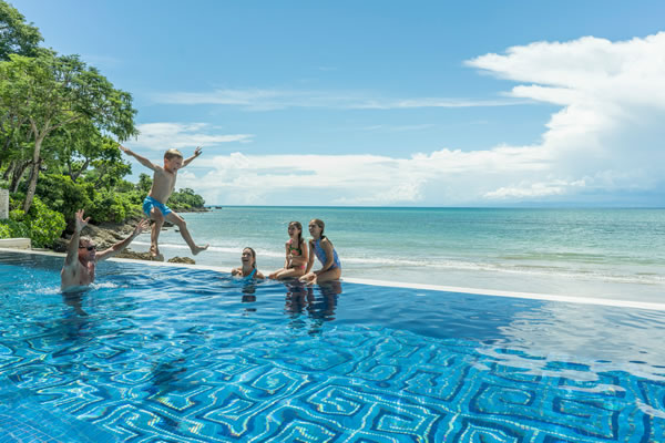 Family Vacation at Four Seasons Resort Bali at Jimbaran Bay