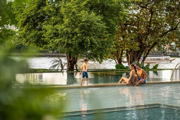 Family Time - ©Four Seasons Hotel Bangkok at Chao Phraya River / Ken Seet