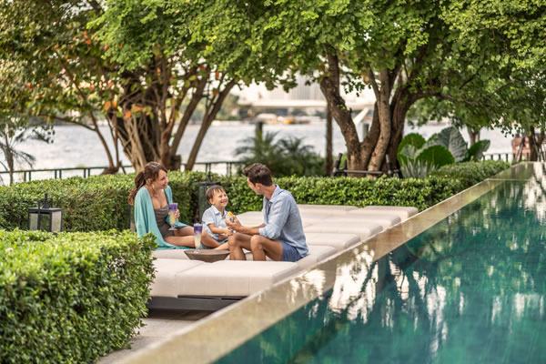 Family Offer at Four Seasons Hotel Bangkok at Chao Phraya River