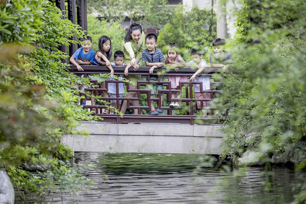 Eco Family Tour Package ©Four Seasons Hotel Hangzhou at West Lake