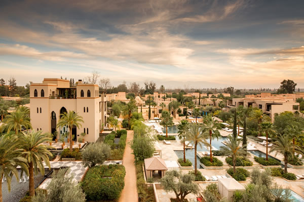 Presidential Suite with views from the terrace - ©Four Seasons Resort Marrakech - Richard Waite