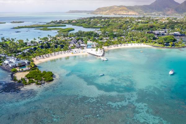 Aerial -©Four Seasons Resort Mauritius at Anahita