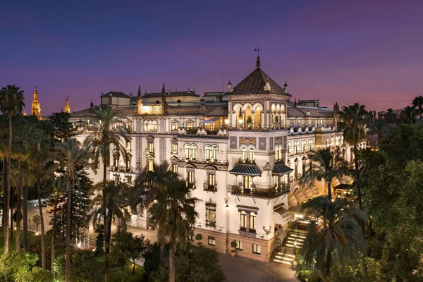 Aerial - ©Hotel Alfonso XIII, a Luxury Collection Hotel, Seville