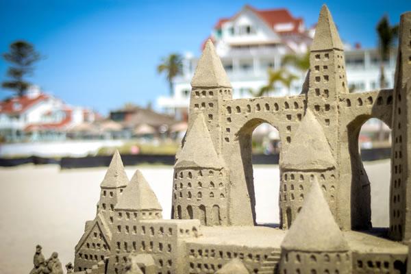 Sandcastles - ©Hotel del Coronado