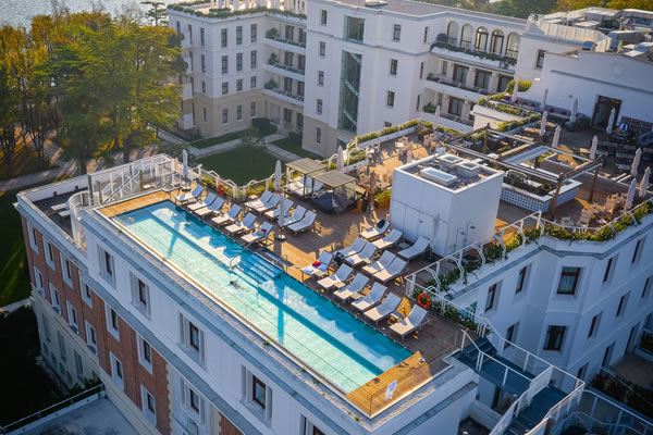 Rooftop Pool ©JW Marriott Venice Resort & Spa