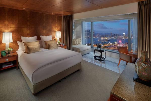 Harbour View Room -©Mandarin Oriental, Hong Kong