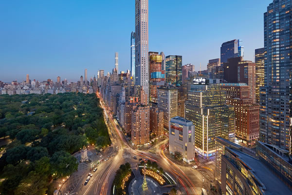 Columbus Circle & Central Park Views - ©Mandarin Oriental, New York