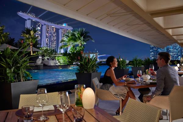 Dolce Vita Terrace - ©Mandarin Oriental, Singapore