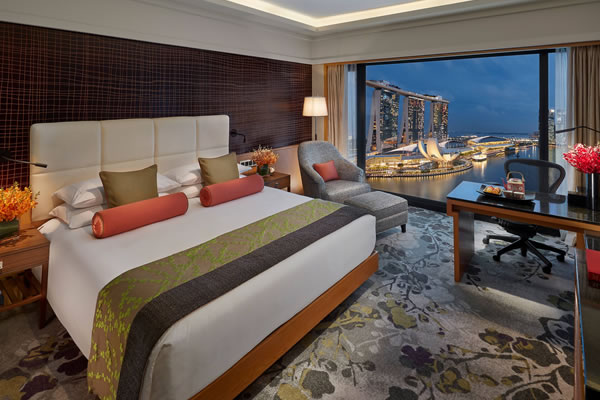 Marina Bay View Room - ©Mandarin Oriental, Singapore