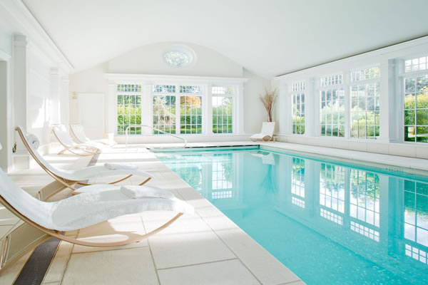 Indoor Pool - ©Mayflower Inn & Spa - Auberge Resorts Collection