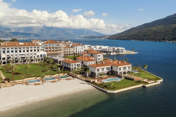 Aerial -©One&Only Portonovi, Montenegro