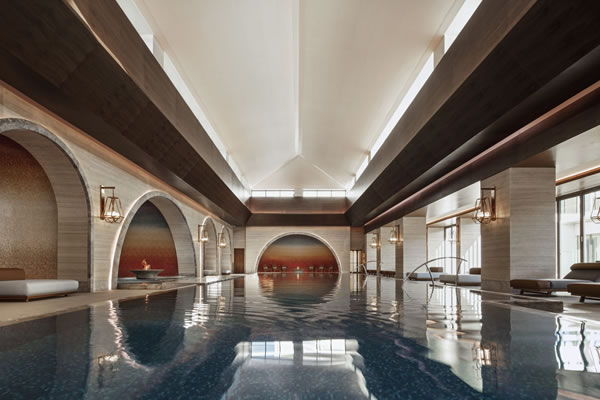 Indoor Pool at Chenot Espace -©One&Only Portonovi, Montenegro