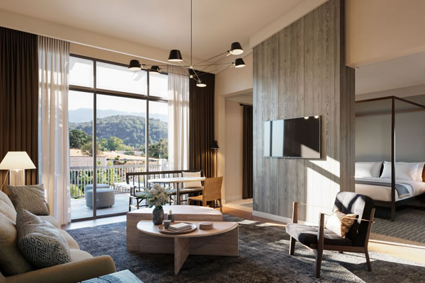 Renovated Junior Suite -©Rosewood Sand Hill, Menlo Park